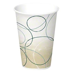 International Paper Disposable Paper Cups, 7 Oz, Champagne, Case Of 2,500