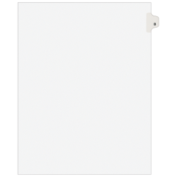 Avery® 20% Recycled Side-Tab Legal Exhibit Dividers, Tab Title B, Pack Of 25