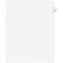 Avery® 20% Recycled Side-Tab Legal Exhibit Dividers, Tab Title C, Pack Of 25