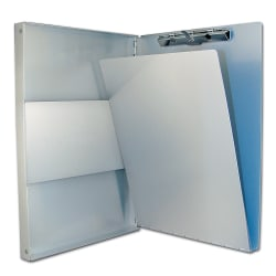 "Saunders® Snapak™ Aluminum Side-Opening Form Holder, 12 3/4"" x 9"" x 1"""
