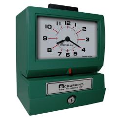 Acroprint 125NR4 Time Clock