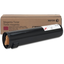 Xerox WorkCentre 7328/7335/7345/7346 - Magenta - original - toner cartridge - for Copycentre C2128, C2636, C3545; WorkCentre Pro C2128, C2636, C3545