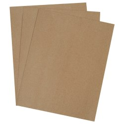 "Office Depot® Brand Extra-Heavy-Duty Chipboard Pads, 40"" x 48"", 100% Recycled, Kraft, Case Of 250"