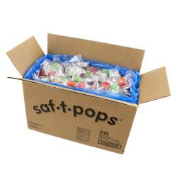 Dum Dum Saf-T-Pops Box, 25 Lb, Assorted Flavors