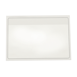"""Cardinal® HOLDit! Index Card Pocket, 3"""" x 5"""", Clear, Box Of 100"""