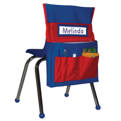 Carson-Dellosa Chairback Buddy, Blue/Red
