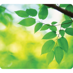 Fellowes® recycled Mouse Pad, Leaves