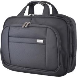 """Codi Riserva 15.6"""" Triple Compartment Case - Ballistic Nylon, Nylon Interior - Shoulder Strap, Handle, Trolley Strap - 12.5"""" Height x 16"""" Width x 5.8"""" Depth"""
