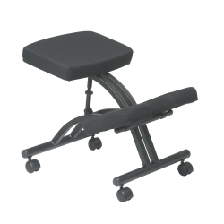 Office Star™ Work Smart Ergonomic Knee Chair, Black