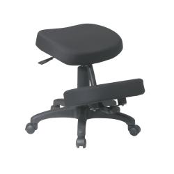 Office Star™ Work Smart Ergonomic Knee Chair, Black