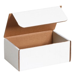 """Office Depot® Brand Literature Mailers, 7"""" x 3 5/8"""" x 2 1/8"""", White, Pack Of 50"""