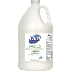 Dial® Basics Liquid Hand Soap, 1 Gallon