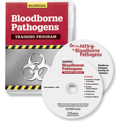 ComplyRight Blood-Borne Pathogens DVD/CD-ROM Bilingual Training Program