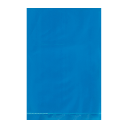 """Office Depot® Brand Flat 2-Mil Poly Bags, 4"""" x 6"""", Blue, Case Of 1,000"""