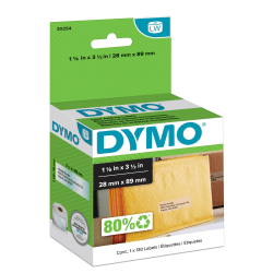 DYMO® LabelWriter® 30254 Clear Address Label, Roll Of 130 Labels