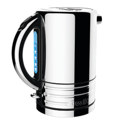 "Dualit® Design Series Electric Tea Kettle, 9""H x 6""W x 7""D, Stainless"