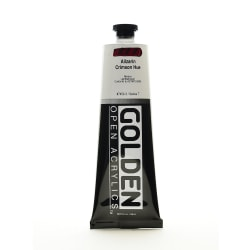 Golden OPEN Acrylic Paint, 5 Oz Tube, Alizarin Crimson Hue
