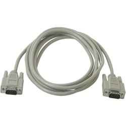 C2G 10ft Economy HD15 SVGA M/M Monitor Cable - HD-15 Male Video - HD-15 Male Video - 10ft - Beige