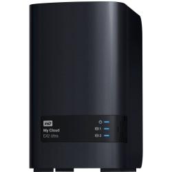 Western Digital® My Cloud EX2 Ultra Network Attached Storage Server, Marvell ARMADA 385 Dual-Core, 4TB HDD, WDBVBZ0040JCH-NESN