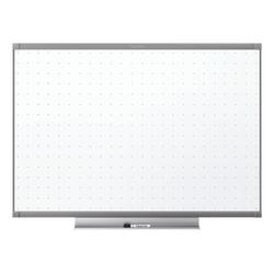 "Quartet® Prestige™ 2 Total Erase® Melamine Dry-Erase Whiteboard, 48"" x 36"", Aluminum Frame With Graphite Finish"