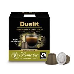 Dualit And Nespresso® Compatible Coffee NX Pods, Sumatra Mandhling Espresso, Carton Of 60