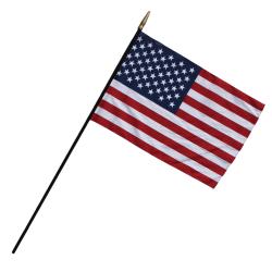 """Flagzone Heritage U.S. Classroom Flag, 12"""" x 18"""""""