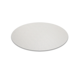 "Floortex Hometex Round Vinyl Table Mats, 12"", Fresh Mist, Pack Of 2 Mats"