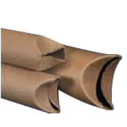 """Office Depot® Brand Economy Crimped-End Mailing Tubes, 2"""" x 18"""", 80% Recycled, Pack Of 50"""