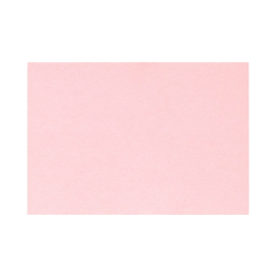 """LUX Flat Cards, A1, 3 1/2"""" x 4 7/8"""", Candy Pink, Pack Of 500"""