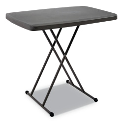 Iceberg IndestrucTable Too 1200 Series Personal Folding Table, Gray