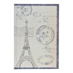 Eccolo Big Ben/Eiffel Tower Journal, Assorted Colors