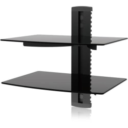 Ematic EMD212 Wall Mount for DVD Player, Gaming Console, Cable Box, DVR - Black - 17.60 lb Load Capacity