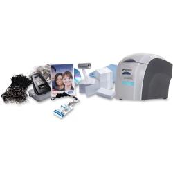 Pronto RX36490001K1 Dye Sublimation/Thermal Transfer Color Printer & ID Badge Kit