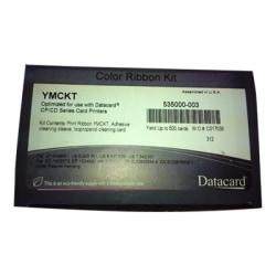 SICURIX® SRX534000003 (Datacard® 534000003) Remanufactured YMCKT Printer Ribbon Cartridge