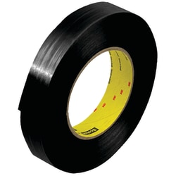 """Scotch® 890MSR Strapping Tape, 3"""" Core, 1"""" x 60 Yd., Black, Case Of 12"""