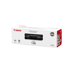 Canon CRG-126 Black Toner Cartridge (3483B001AA)