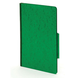 [IN]PLACE® Moisture-Resistant Classification Folders, Legal Size, 2 Dividers, 30% Recycled, Dark Green, Box Of 10
