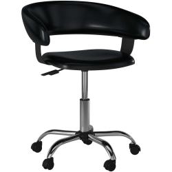 Powell® Gas-Lift Desk Chair, Black