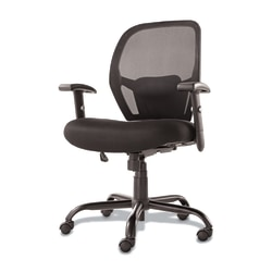 Alera Merix450 Series Mesh Mid-Back Chair, Black