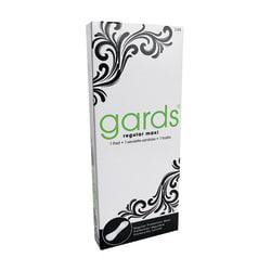 Gards Maxi Pads, Size #8, White, Carton Of 250