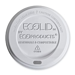 Eco-Products Hot Cup Lids, Translucent, Pack Of 800