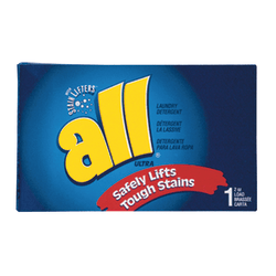 ALL Ultra Powder Coin Vending Laundry Detergent Boxes, 2 Oz, Box Of 100