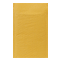 "Sealed Air Self-Seal Bubble Mailers, Size #0, 6"" x 9"", Satin Gold, Pack Of 200"