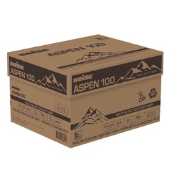 """Boise® ASPEN® 100 Multi-Use Paper, Legal Size (8 1/2"""" x 14""""), 20 Lb, 100% Recycled, FSC® Certified, Ream Of 500 Sheets, Case Of 10 Reams"""