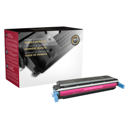 Clover Imaging Group OM06368 Remanufactured Toner Cartridge Replacement For HP 645A Magenta