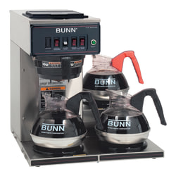 Bunn® CWT15 12-Cup Automatic Coffeemaker, Stainless Steel