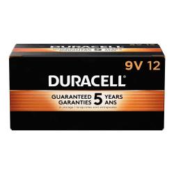 Duracell® Coppertop 9-Volt Alkaline Batteries, Box Of 12