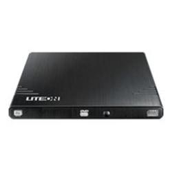 Lite-On EBAU108 DVD-Writer - Black - DVD-RAM/±R/±RW Support - 24x CD Read/24x CD Write/24x CD Rewrite - 8x DVD Read/8x DVD Write/8x DVD Rewrite - Double-layer Media Supported - USB 2.0