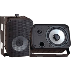 Pyle PylePro PDWR50B 2-way Indoor/Outdoor Speaker - 250 W RMS - Black - 4 Ohm