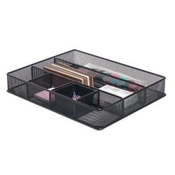 Brenton Studio® Black Mesh Large Drawer Organizer